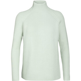 Icebreaker Hillock Funnel Neck Sweater Women frost